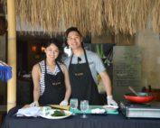 couple cooking class at the elysian villa seminyak