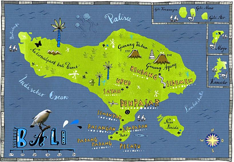 Carte Bali Balangan.16 Maps That Will Change The Way You See Bali The Elysian