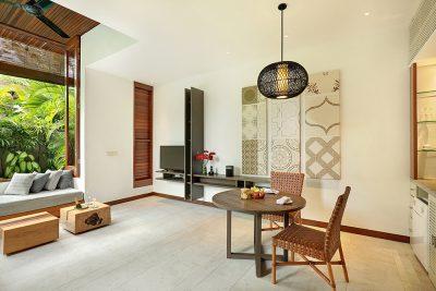 Living Area in Villa